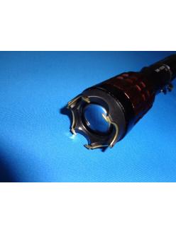 Фонарь электрошокер Brillante Torcia LED Х5, zoom