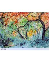 """РН GХ7939 """"Цветные деревья"""", 40х50 см"""
