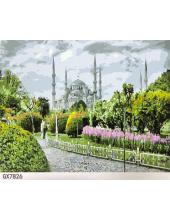 """РН GХ7826 """"Тадж-Махал. Вид из парка"""", 40х50 см"""